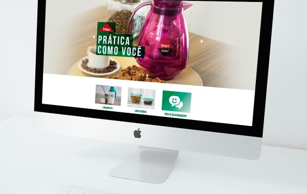 Novo site para a Tritec